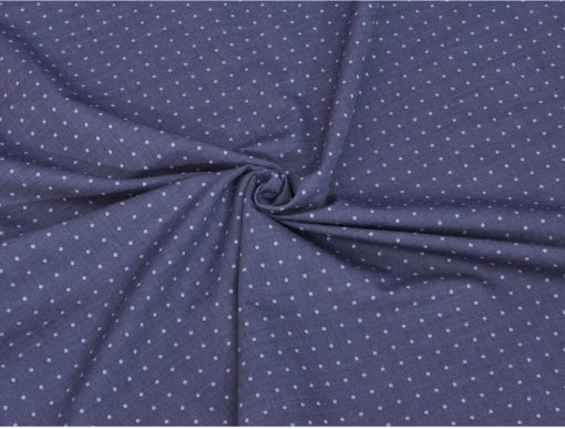 Grey Double Side Giza cotton shirting fabric in 1 ply 70s