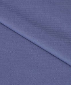 Grey Herringbone Giza cotton shirting fabric in 2 ply 100s