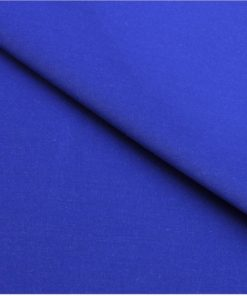 Electric Blue Giza cotton shirting fabric in 1 ply 60s