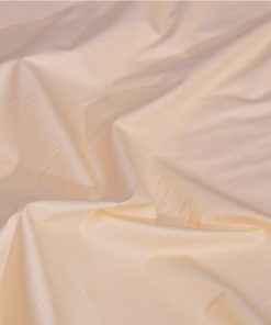 Pale Yellow Solid Giza cotton shirting fabric in 1 ply 70s