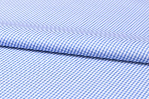 Blue micro checks