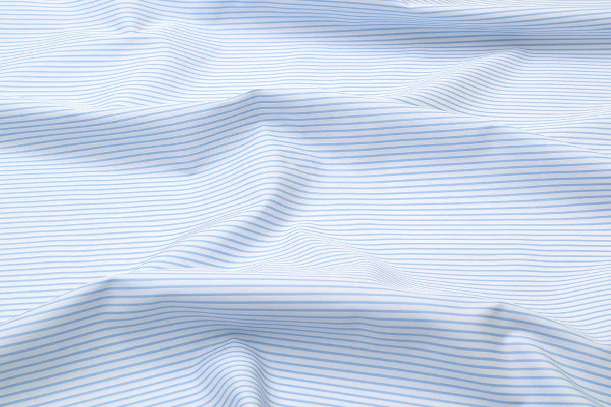 Sky Blue Narrow Stripes Shirt 120077 (1)