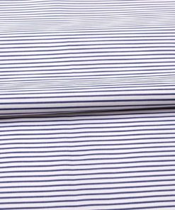 Blue Narrow Stripes Shirt 120078 (2)