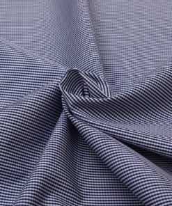 Navy Blue Micro Checks Shirt 120086 (2)