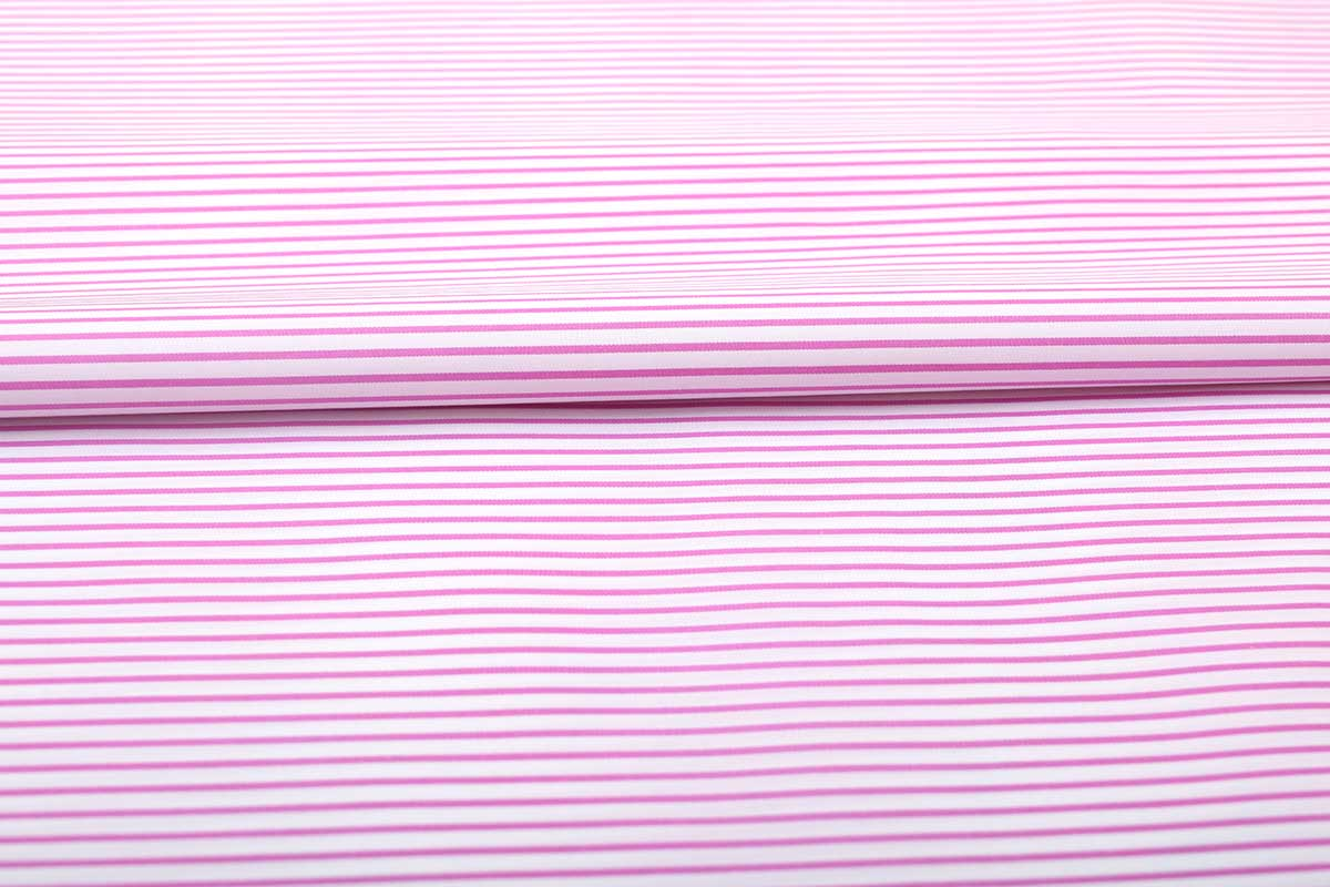 Pink Narrow Stripes Shirt 120087 (2)