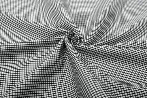 Black Graph Checks Shirt 120090 (3)