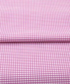 Pink Graph Checks Shirt 120091 (1)