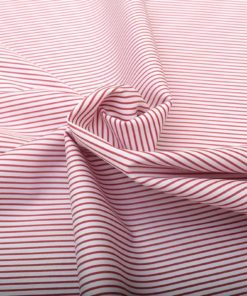 Red Narrow stripes Shirt 120097 (1)