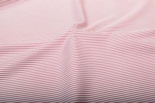 Red Narrow stripes Shirt 120097 (2)