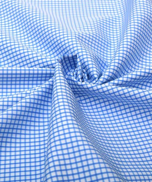 Blue Graph Checks Shirt 120100 (1)