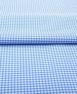 Blue Graph Checks Shirt 120100 (3)