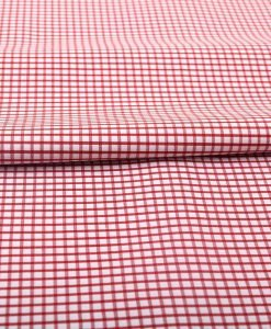Red Graph Checks Shirt 120101 (3)