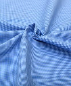 Blue Micro Checks Shirt 120104 (1)