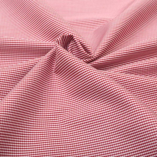 Red Micro Checks Shirt 120105 (3)