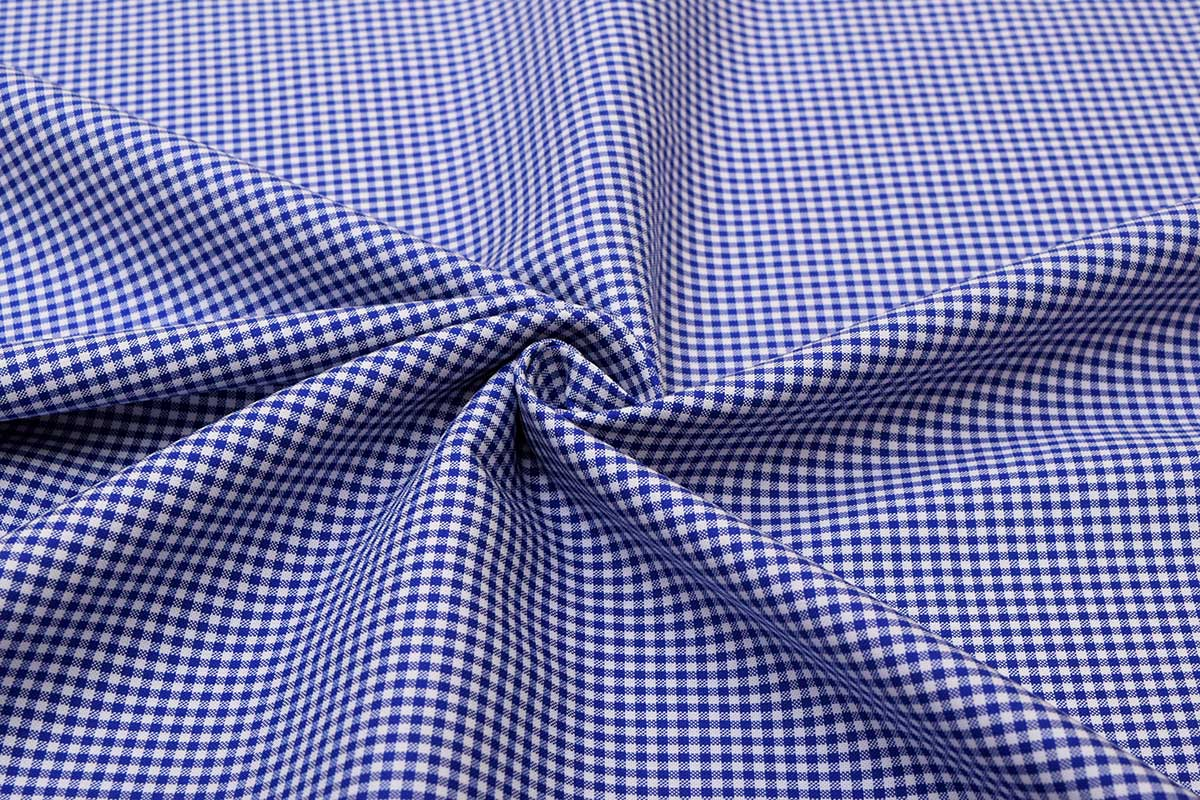 Navy Blue Mini Checks Shirt 120121 (2)