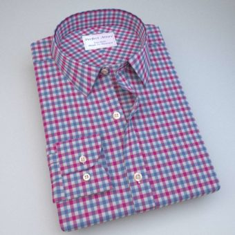Green and Blue Gingham Shirt 121190