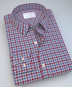 Green and Blue Gingham Shirt 121191