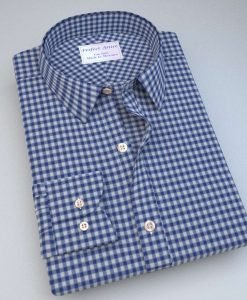Green and Blue Gingham Shirt 121192