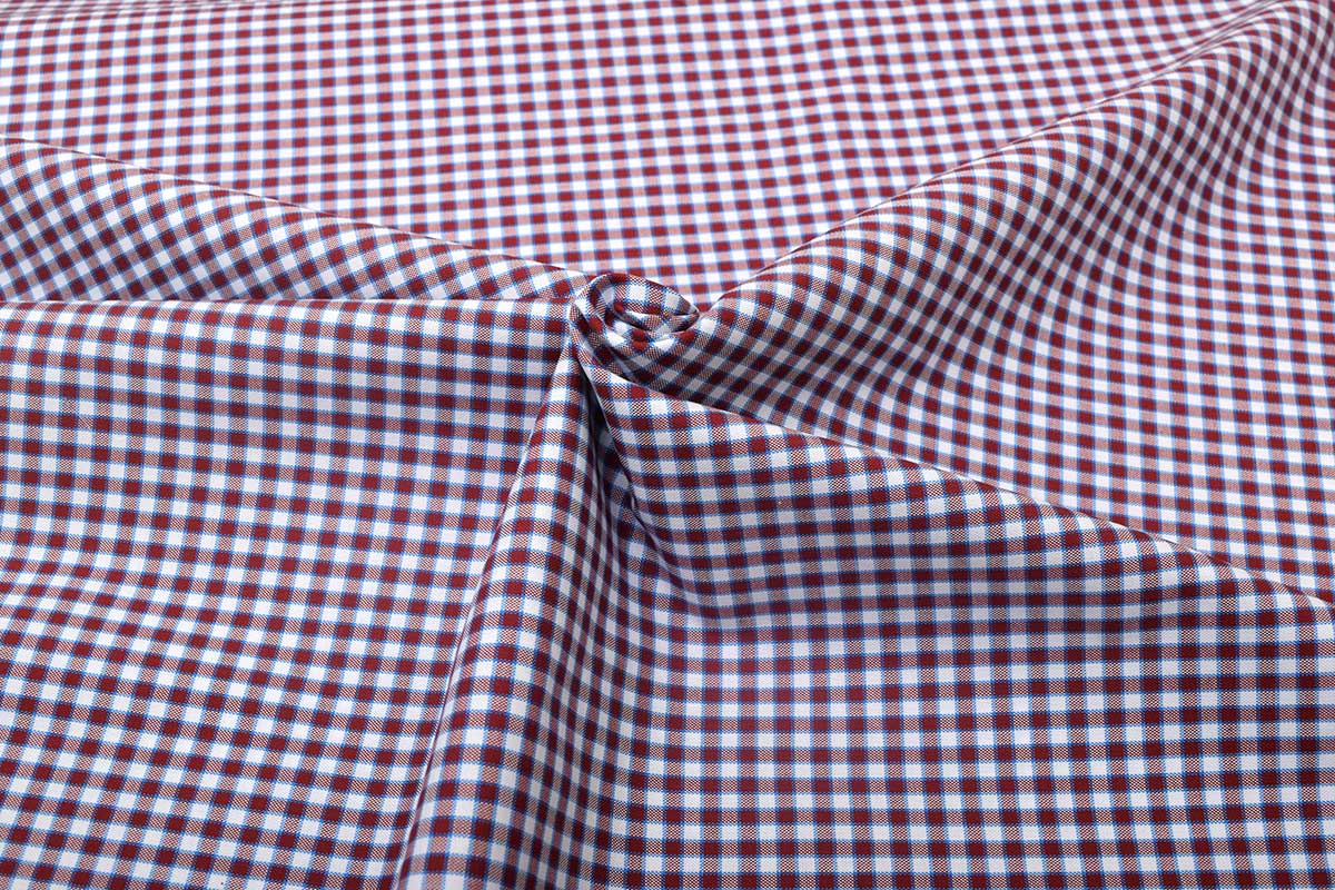Maroon Gingham Shirt 121193 (3)
