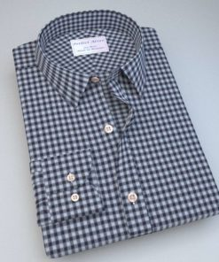 Green and Blue Gingham Shirt 121194