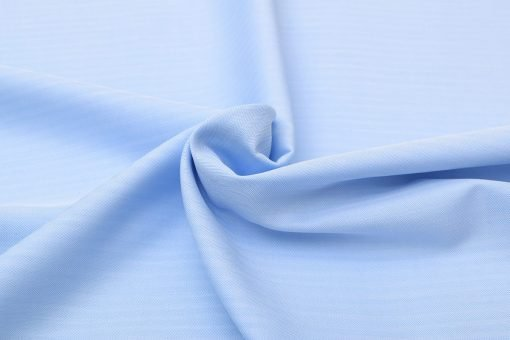 Light Blue Herringbone Shirt 121388 (3)