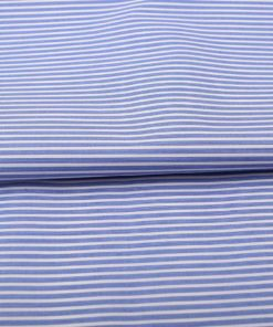 Deep Blue Wrinkle Free Stripes Shirt 805103 (1)