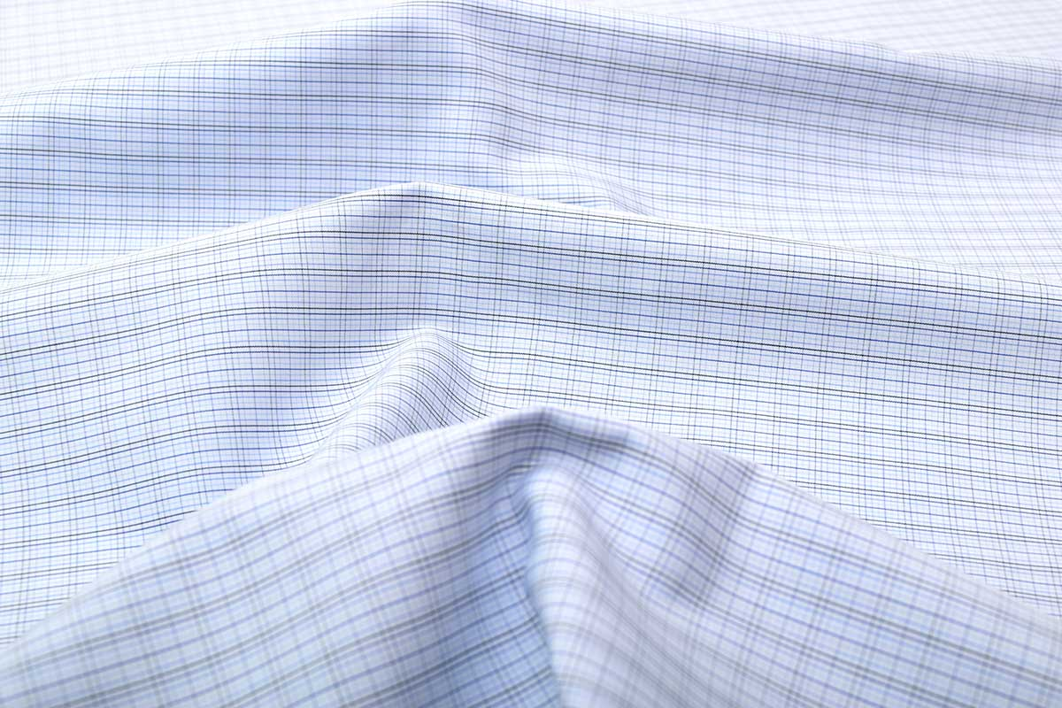 Wrinkle Free Graph Checks Shirt 805106 (1)