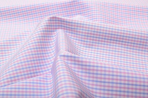 Red & Blue Wrinkle Free Checks Shirt 805148 (1)