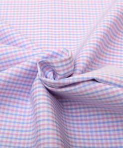 Red & Blue Wrinkle Free Checks Shirt 805148 (3)