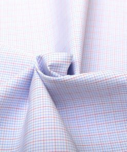 Blue and Red Mini Graph checks Shirt 805150-(2)