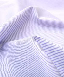 Lavender Dobby Wrinkle Free Pencil Stripes Shirt 806130 (1)