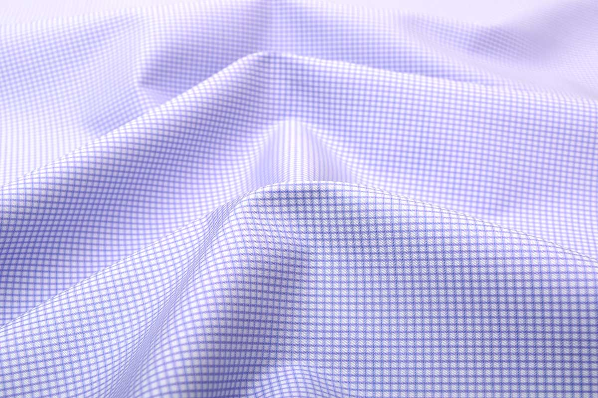 Lavender Dobby Wrinkle Free Checks Shirt 806131 (1)