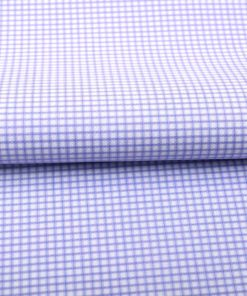 Lavender Dobby Wrinkle Free Checks Shirt 806131 (2)