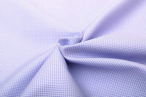 Lavender Dobby Wrinkle Free Checks Shirt 806131 (3)