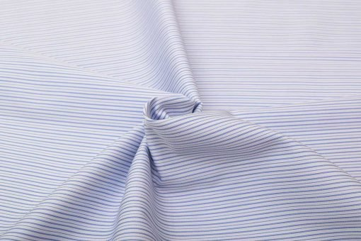 Blue Wrinkle Free Checks Shirt 806132 (3)