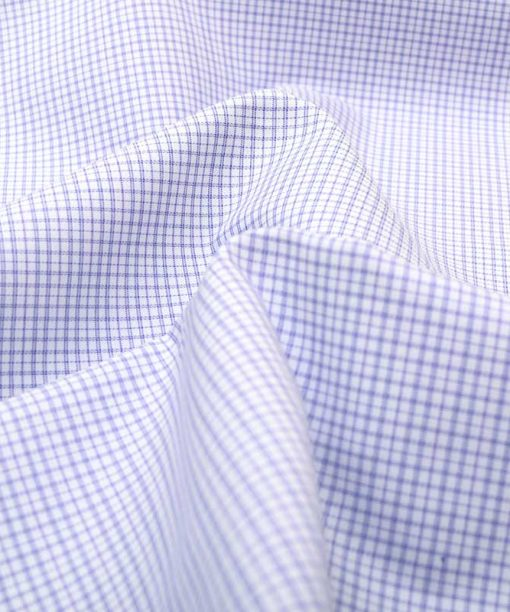 Violet Wrinkle Free Checks Shirt 806135 (1)