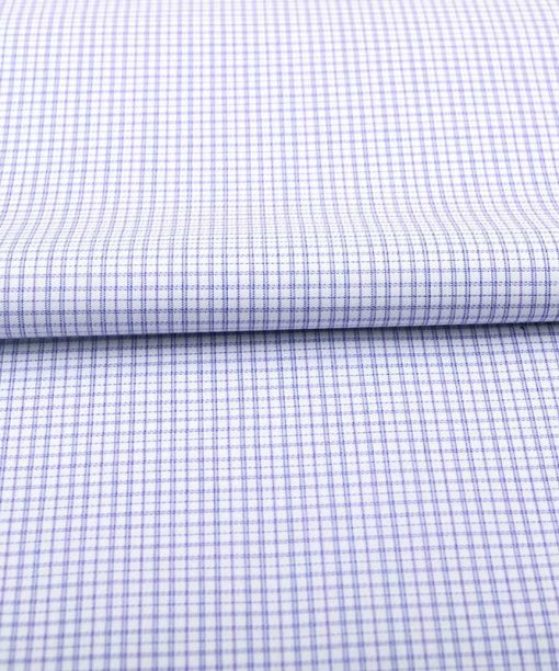 Violet Wrinkle Free Checks Shirt 806135 (2)