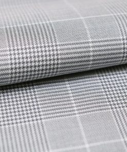 Grey Glen Plaid Checks Shirt PAL-076-A