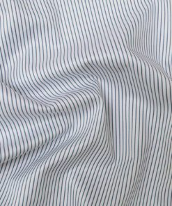 Aqua Purple Dobby Stripes Shirt PAL-106-C