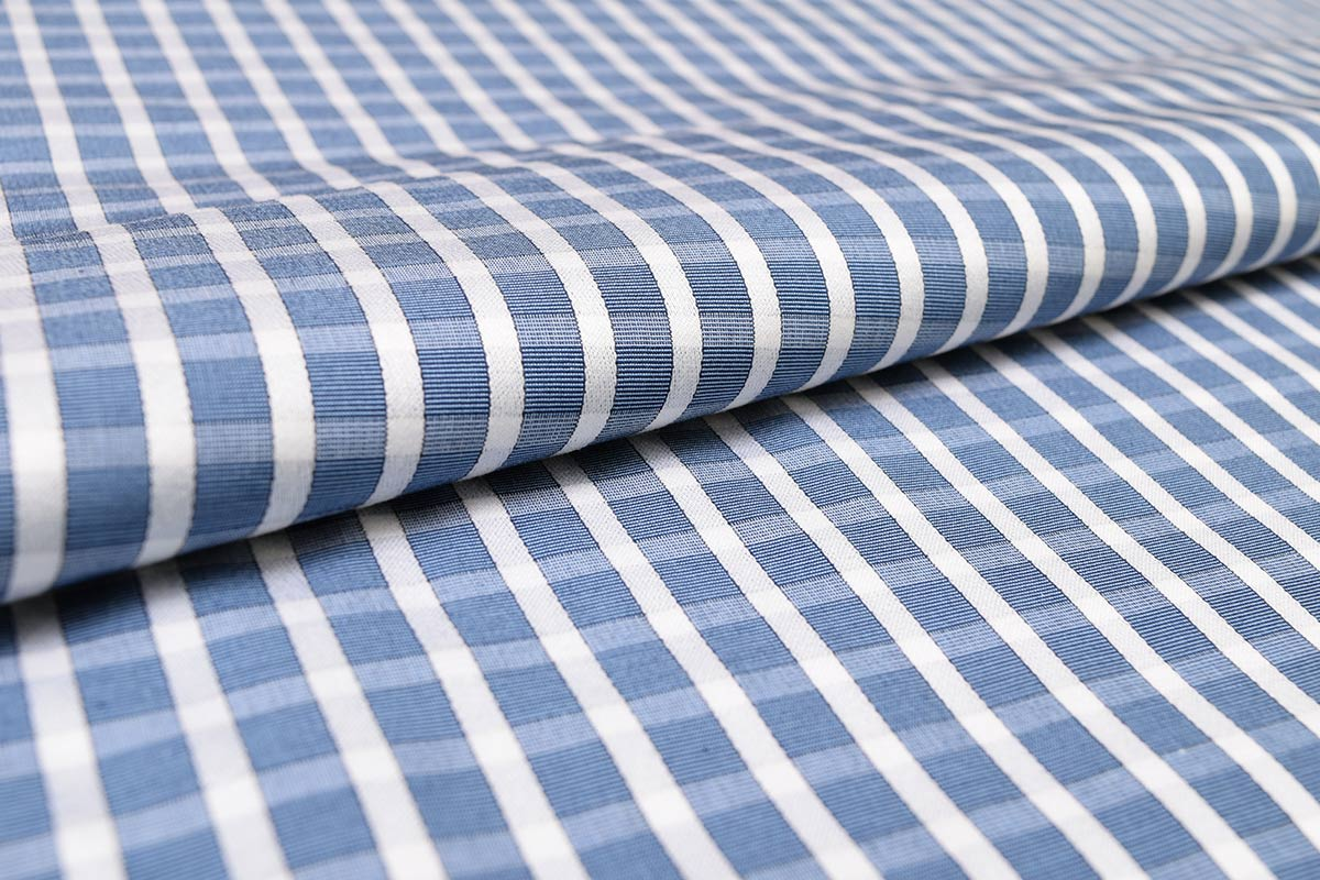 Deep Blue Checks Shirt PAL-109-A
