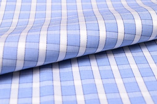 Light Blue Checks Shirt PAL-110-A