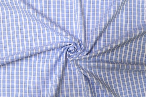 Light Blue Checks Shirt PAL-110-B