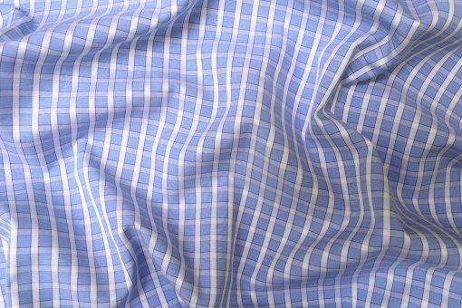 Light Blue Checks Shirt PAL-110-C