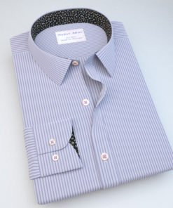 Lavender Striped Dress Shirt 806110087