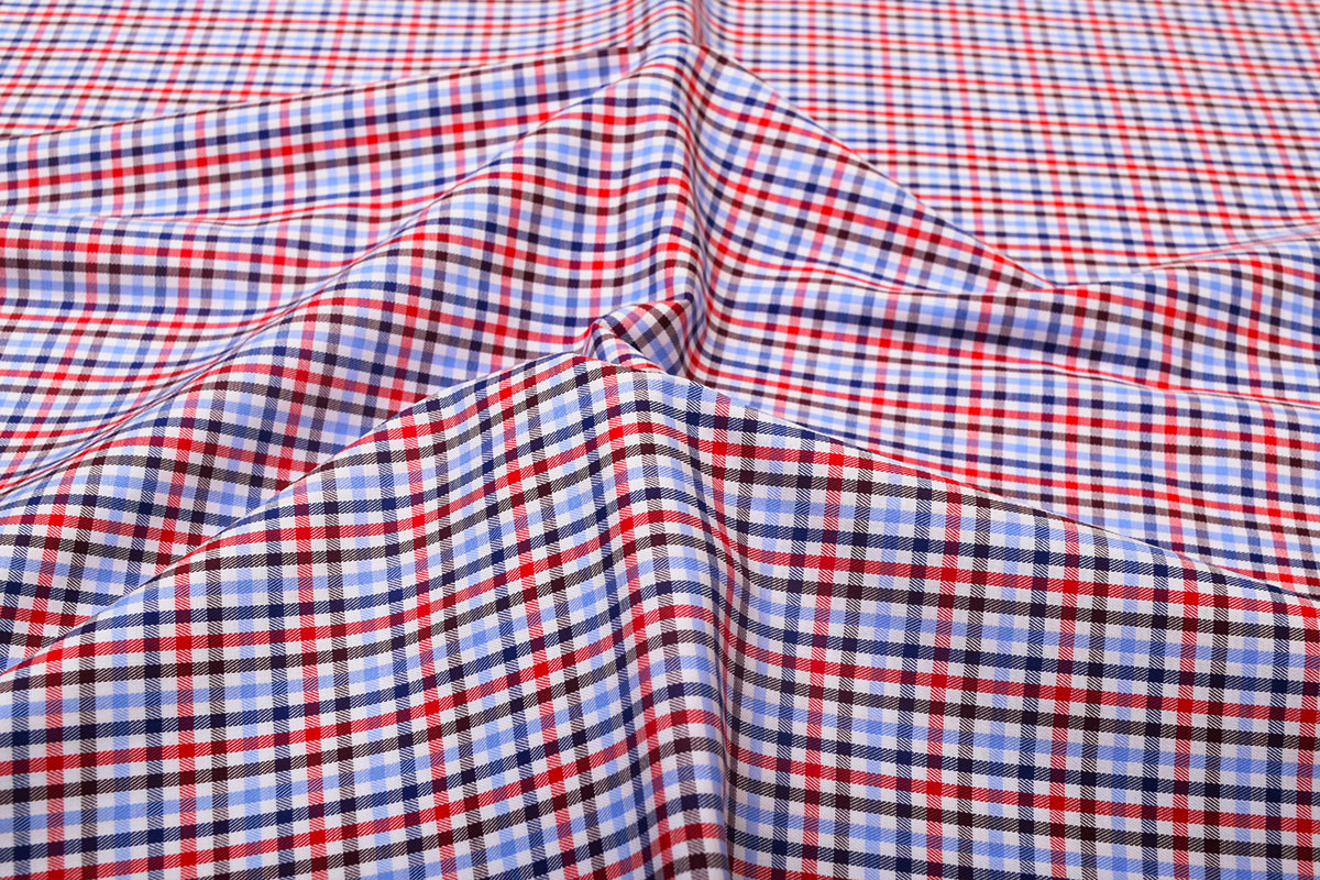Red and Blue Checks Shirt 121169-Laredo-(1)