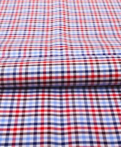 Red and Blue Checks Shirt 121169-Laredo-(2)