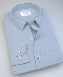 Diamond on dots print Shirt 84006