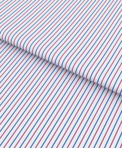 Red and Blue Pencil stripes Shirt 94703-b