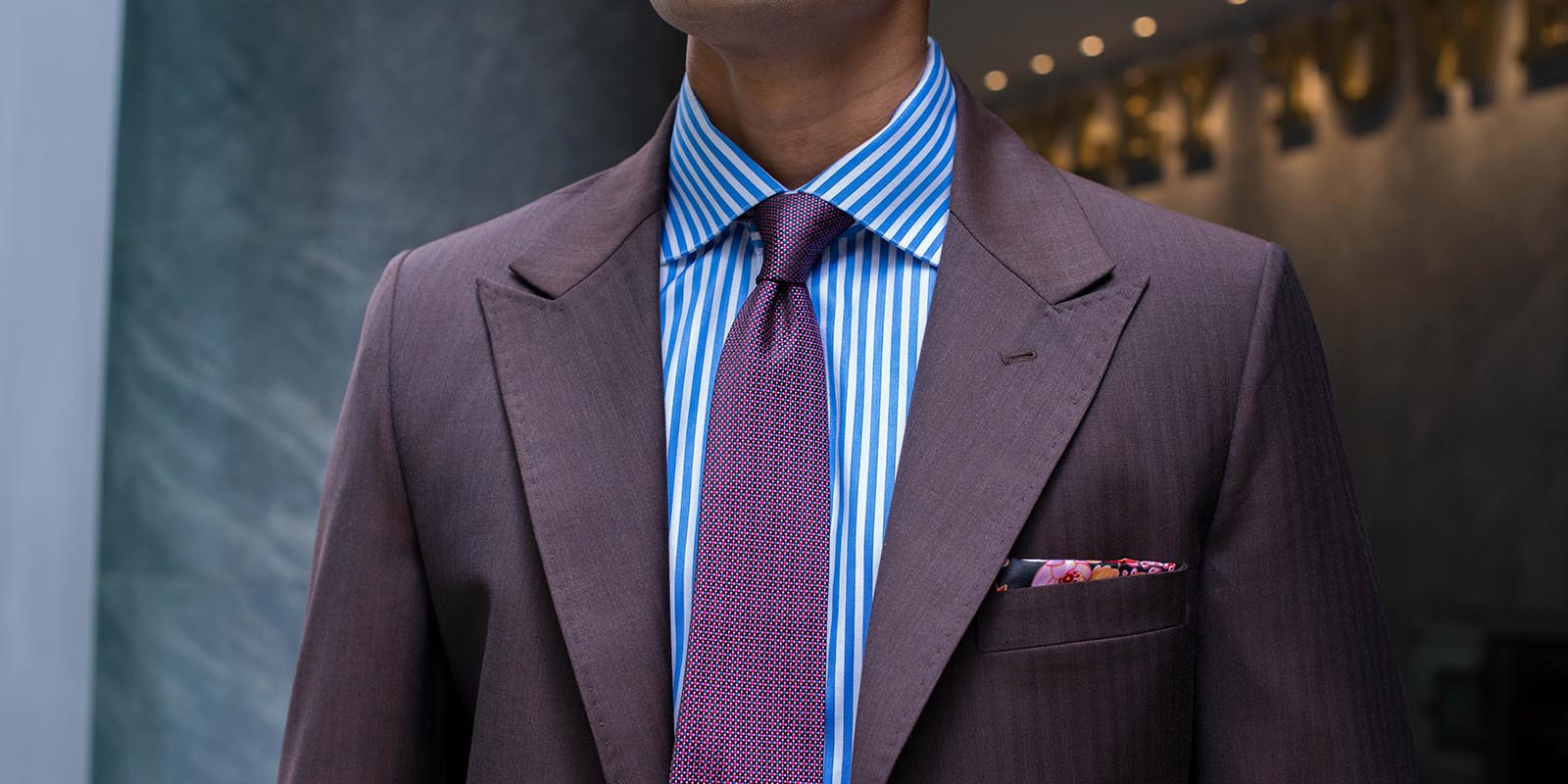 Bespoke-Brown-Herringbone-Two-Piece-Suit-by-Perfect-Attire-Singapore