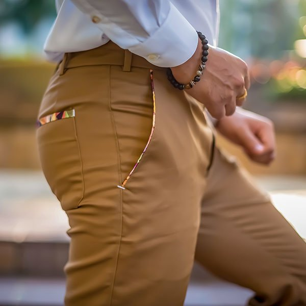 Bespoke Custom Made Tailored Cotton Pants and Chinos